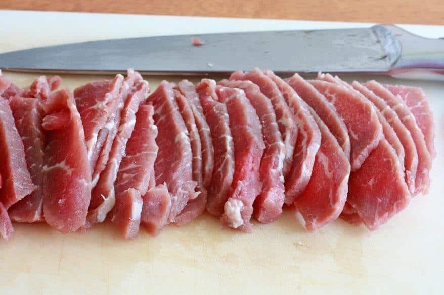 Orange Sichuan Beef prep 1