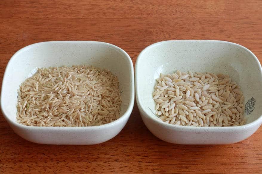 Homemade Rice a Roni prep 1