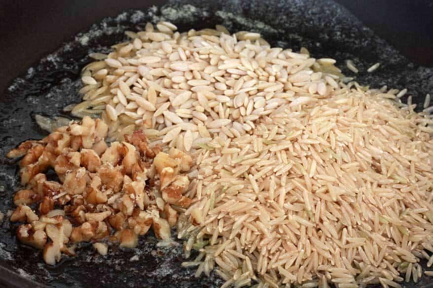 Rice a Roni prep 2