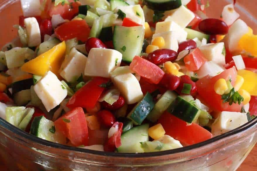 German Party Salad prep 12