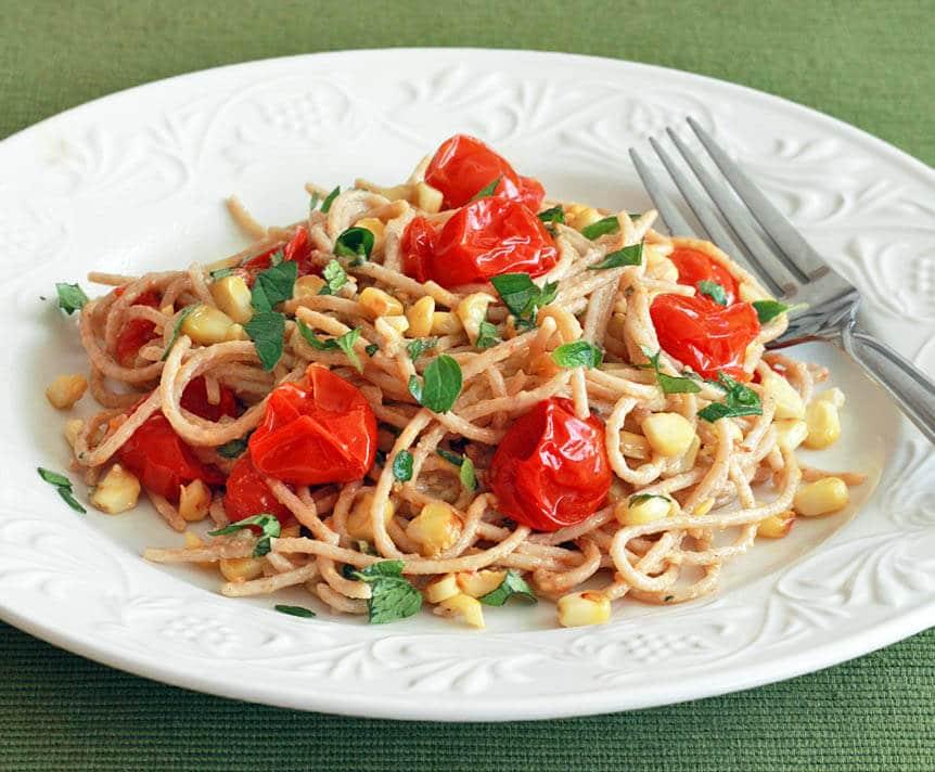 Grilled Tomato Corn Pasta 3 sm cropped