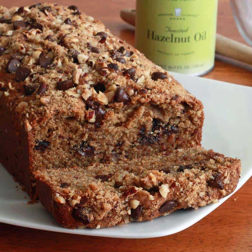 Orange Chocolate Hazelnut Bread Recipe whole wheat spelt