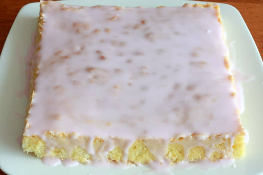 Lavender Almond Cake prep 10