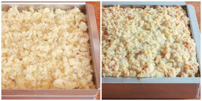 rhubarb streusel cake recipe buttermilk crumb