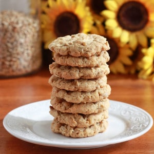 Coconut Sunflower Seed Cookies