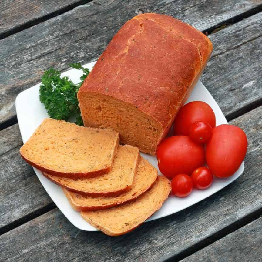 Tomato Herb Bread 10