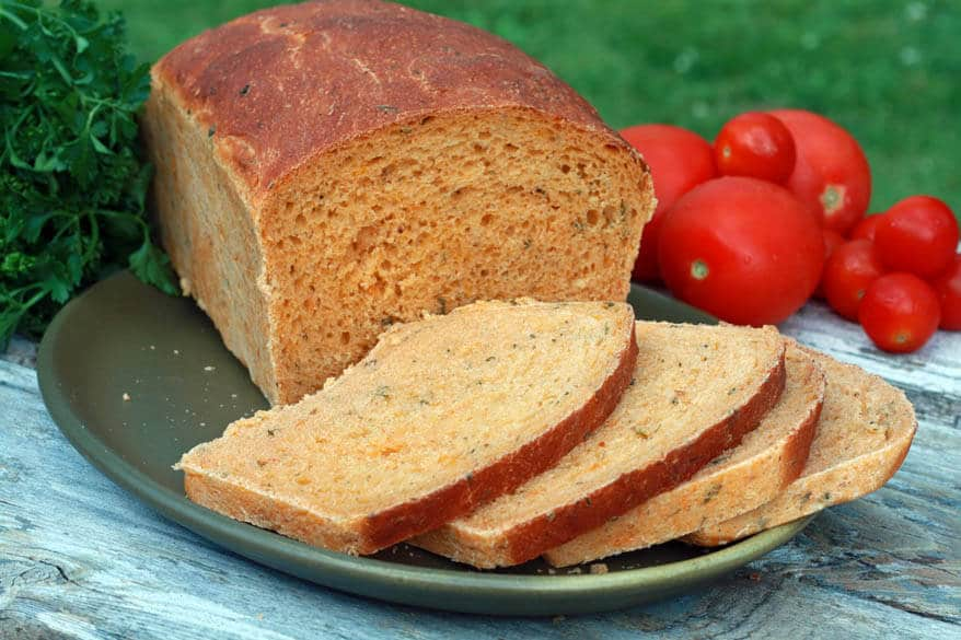 Tomato Herb Bread 2 sm