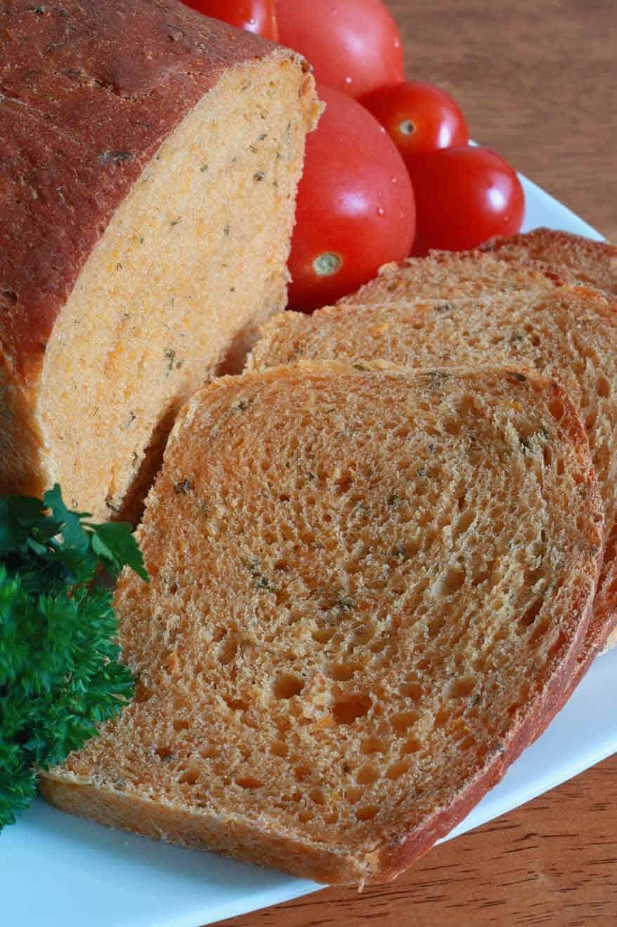 Tomato Herb Bread 6 sm
