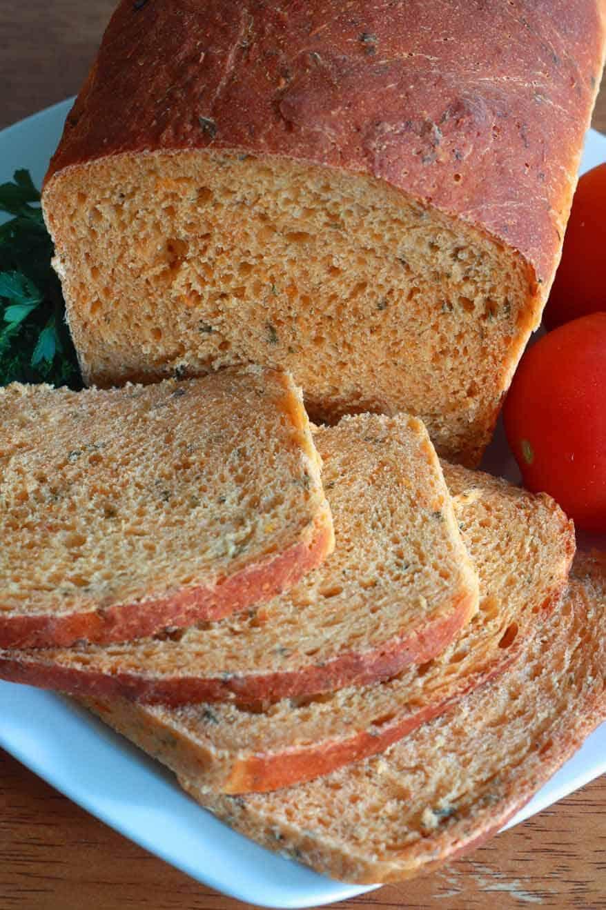 Tomato Herb Bread 7 sm