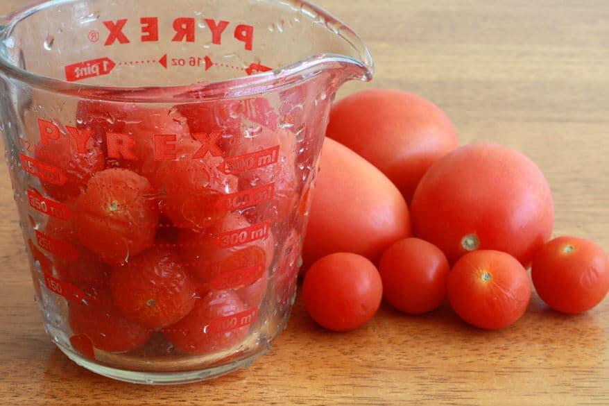 Tomato Herb Bread prep 1