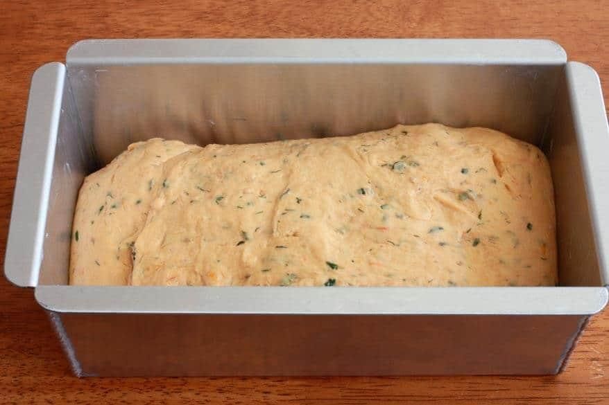 Tomato Herb Bread prep 19