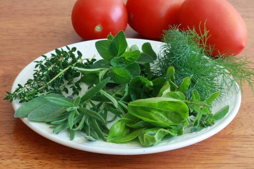 Tomato Herb Bread prep 2