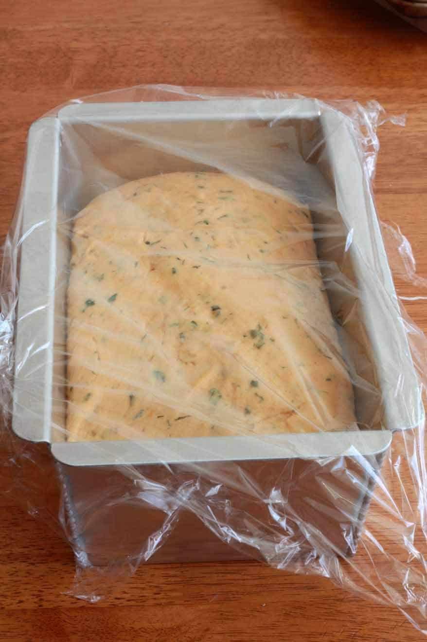 Tomato Herb Bread prep 20