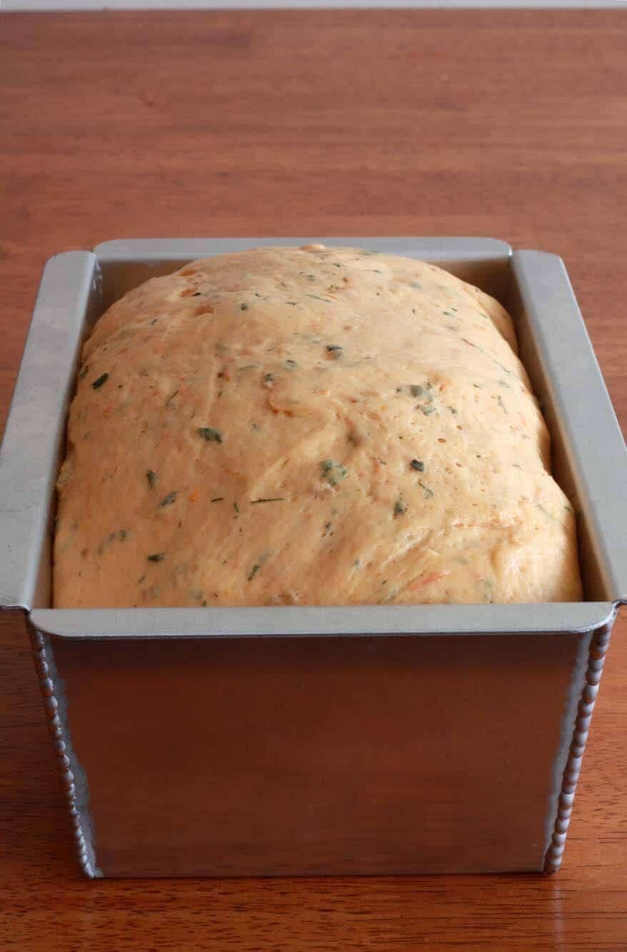 Tomato Herb Bread prep 23