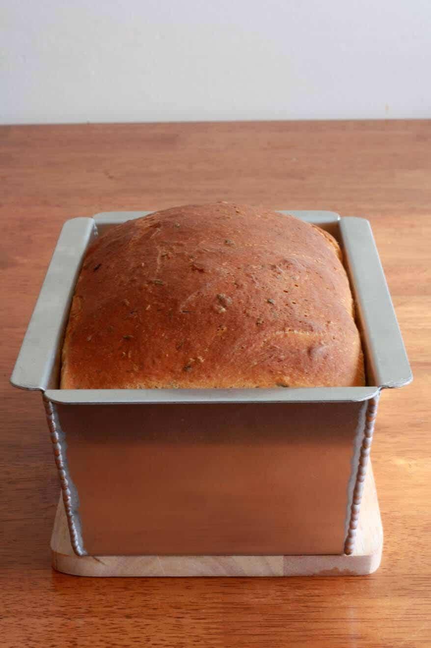 Tomato Herb Bread prep 24