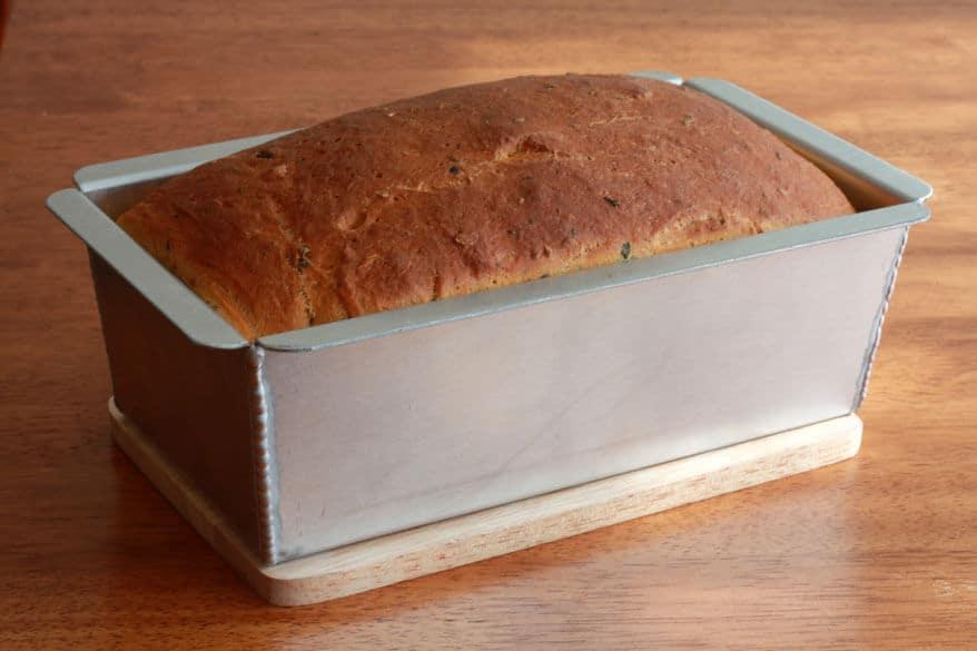 Tomato Herb Bread prep 25