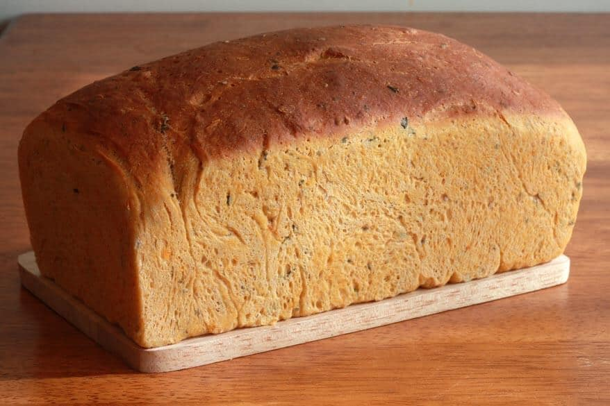 Tomato Herb Bread prep 26