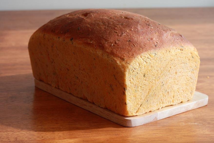Tomato Herb Bread prep 27