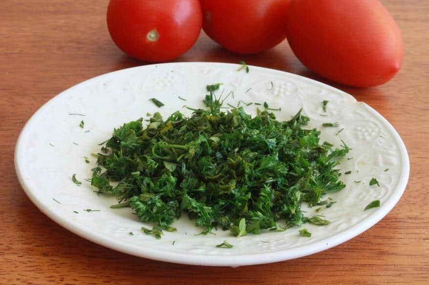 Tomato Herb Bread prep 3