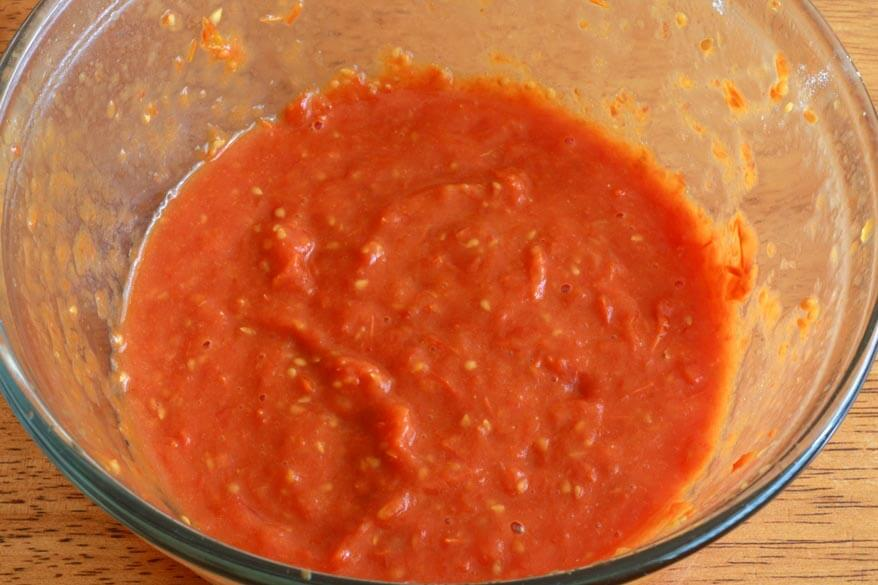 Tomato Herb Bread prep 5