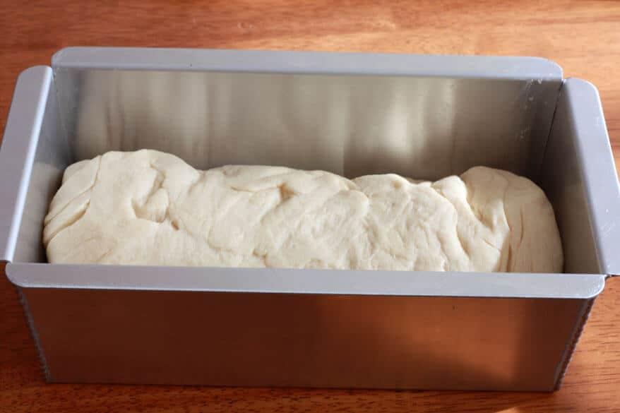 Sandwich Bread prep 13
