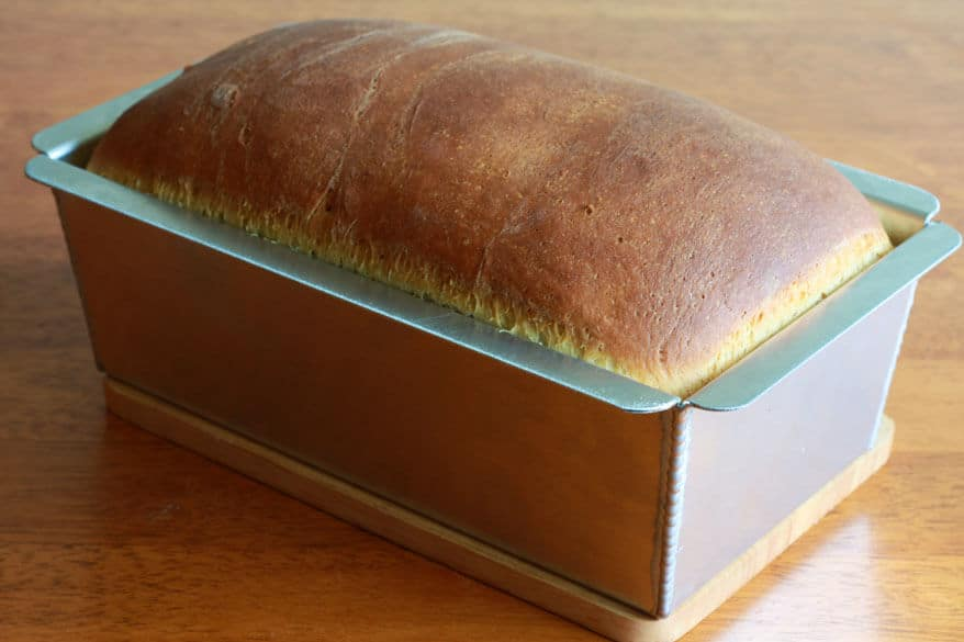 Sandwich Bread prep 18