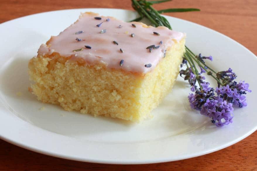 Lavender Almond Cake 9