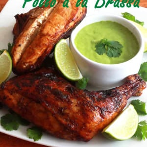 pollo a la brassa recipe peruvian authentic roasted chicken spicy crispy skin marinade homemade easy