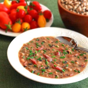 black eyed pea soup recipe smoked ham hocks peppers