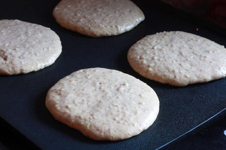 Mega Healthy Pancakes prep 6