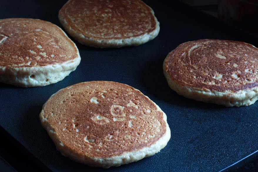 Mega Healthy Pancakes prep 7