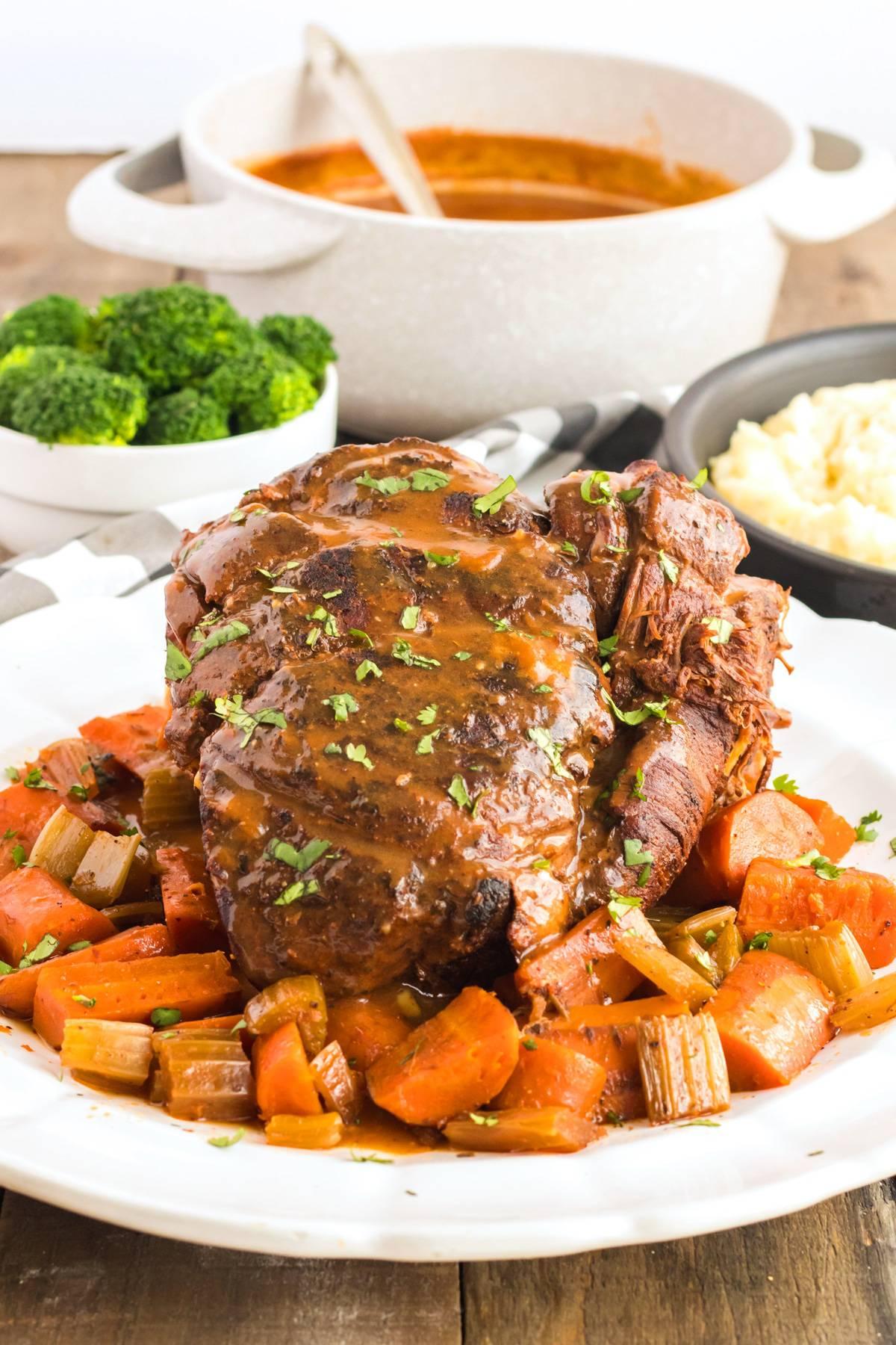 Best Slow Cooker Pot Roast The Daring Gourmet