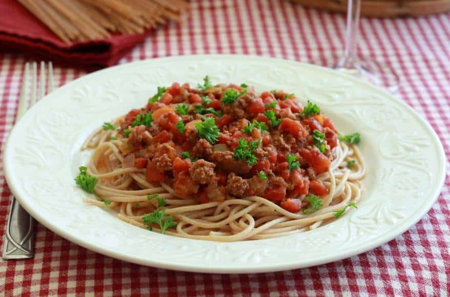 Authentic Ragu di Carne Italian Spaghetti Sauce