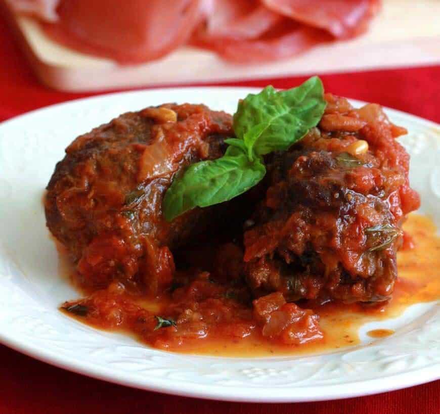 BBraciole Involtini di Manza Italian Beef Rolls