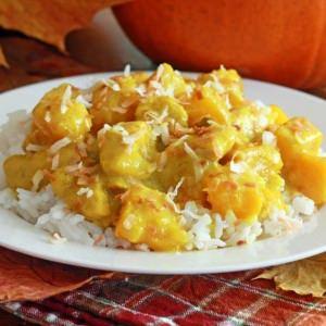 Coconut Chicken Pumpkin Curry