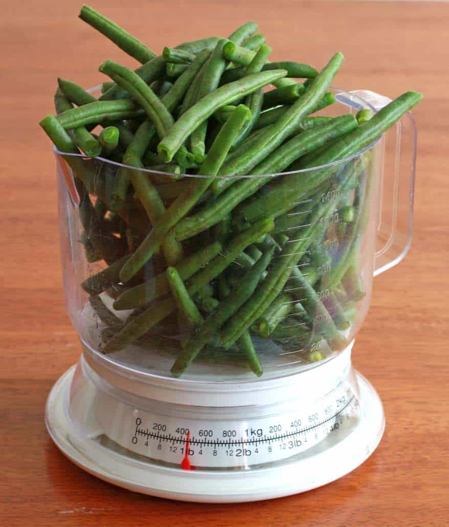 Green Beans prep 1