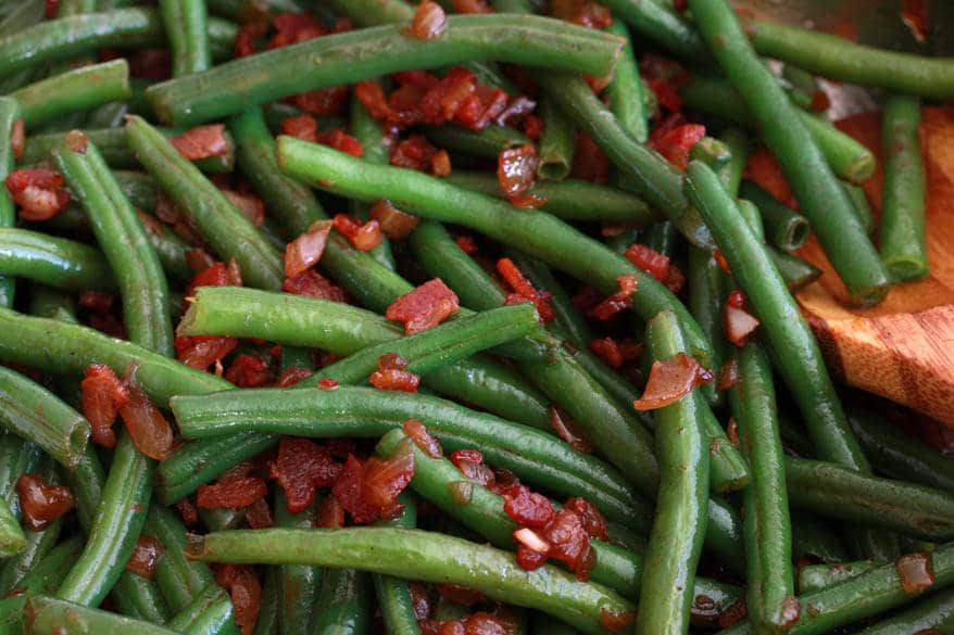 Green Beans prep  9