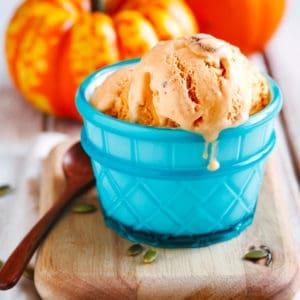 pumpkin ice cream recipe homemade best pie