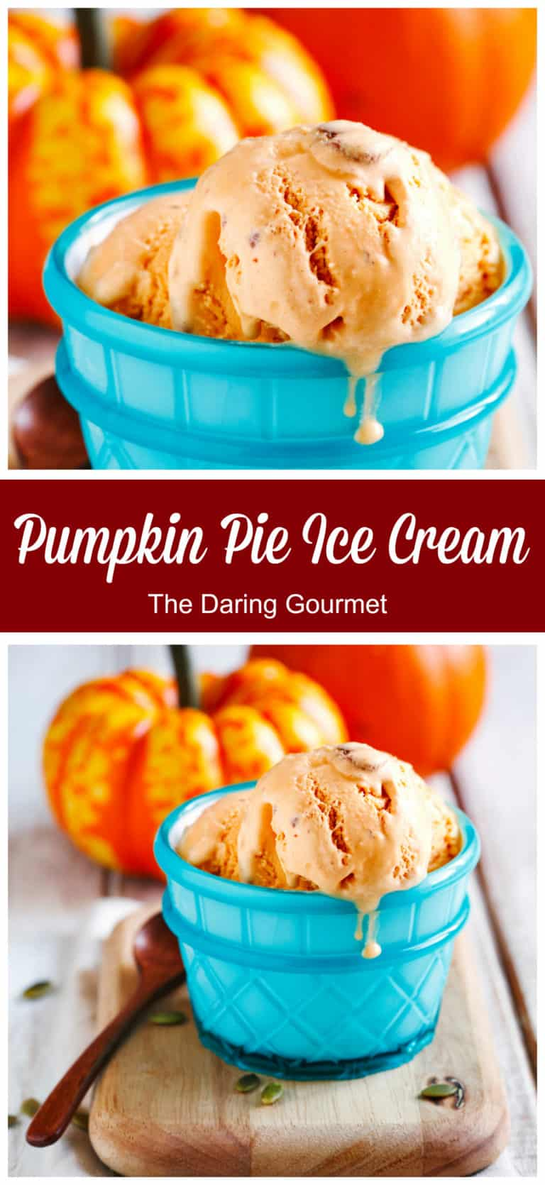 pumpkin ice cream recipe homemade best pie