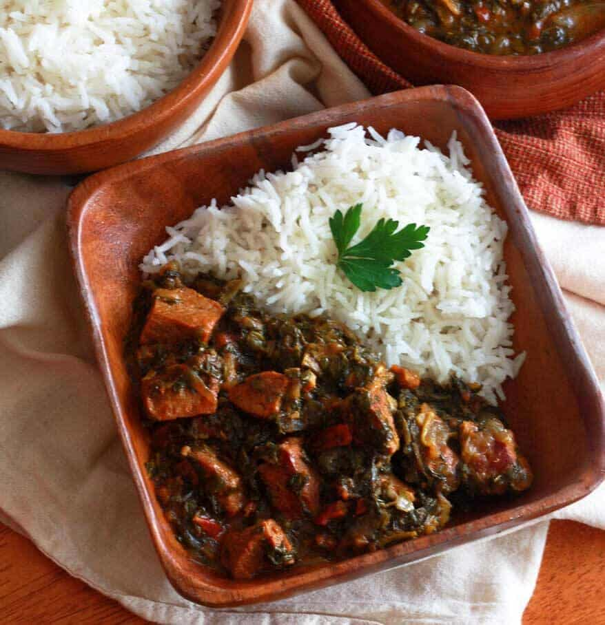 Saag Gosht Punjabi Beef and Spinach Curry