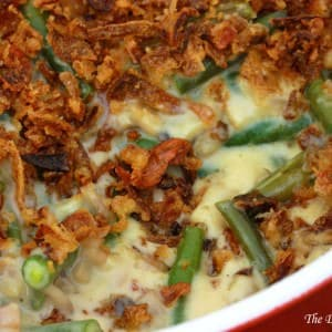 best green bean casserole recipe from scratch ultimate bacon cheddar cheese mushrooms cream