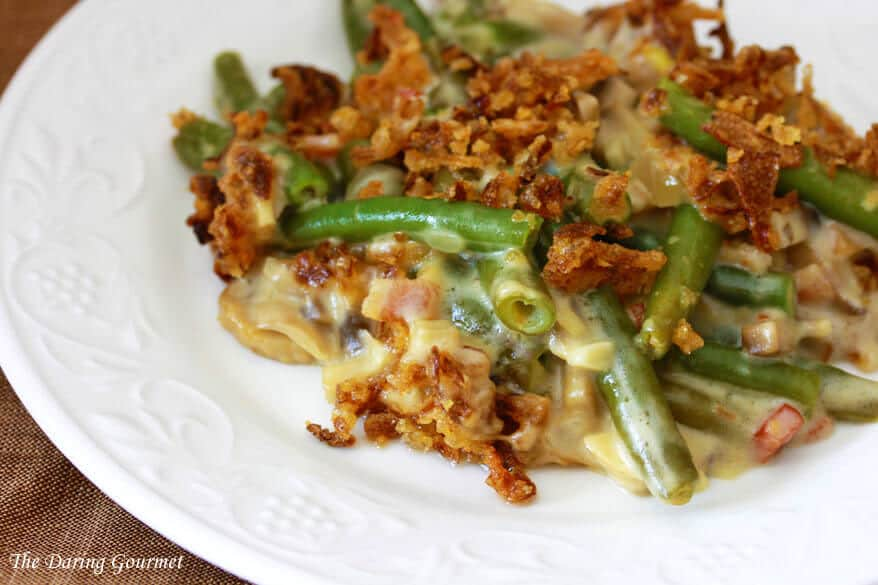 Ultimate Green Bean Casserole (from scratch) - The Daring Gourmet