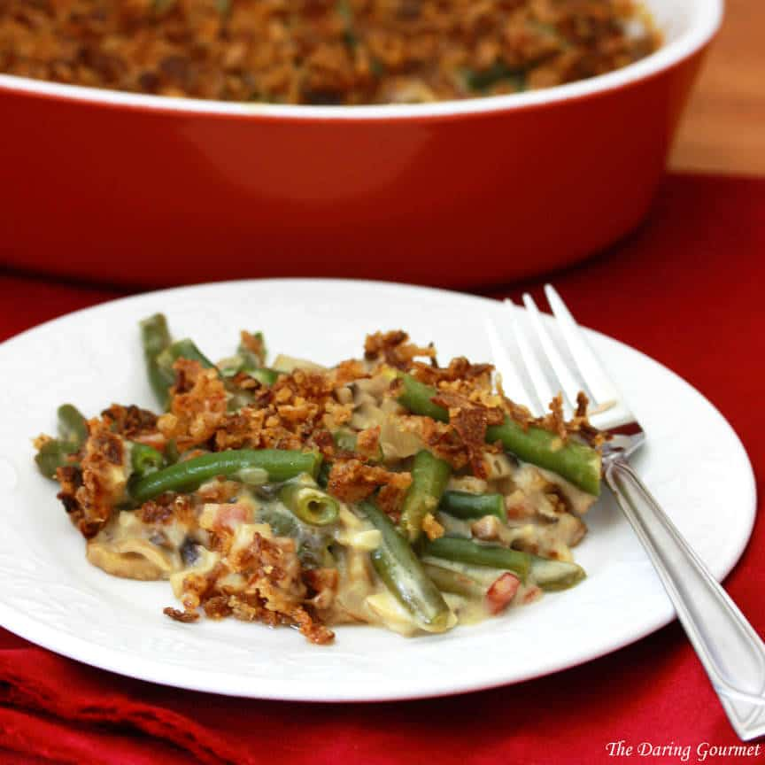 Ultimate Green Bean Casserole (from scratch) - The Daring ...