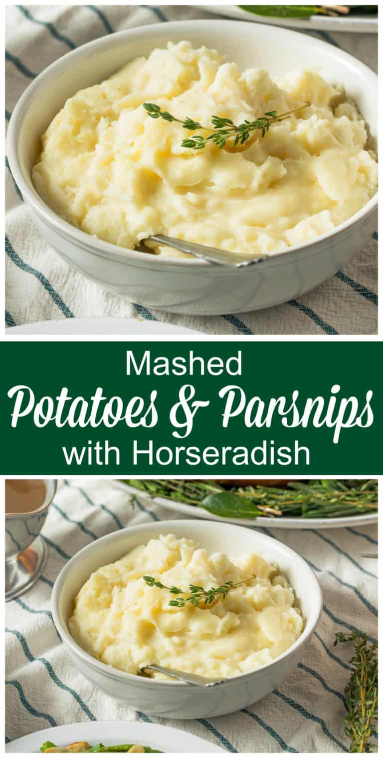 mashed potatoes parsnips recipe horseradish