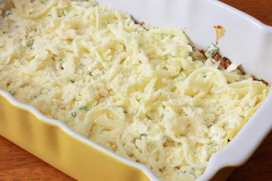 Pumpkin Kale Lasagna prep 16
