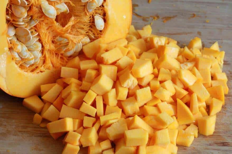 Pumpkin Kale Lasagna prep 4