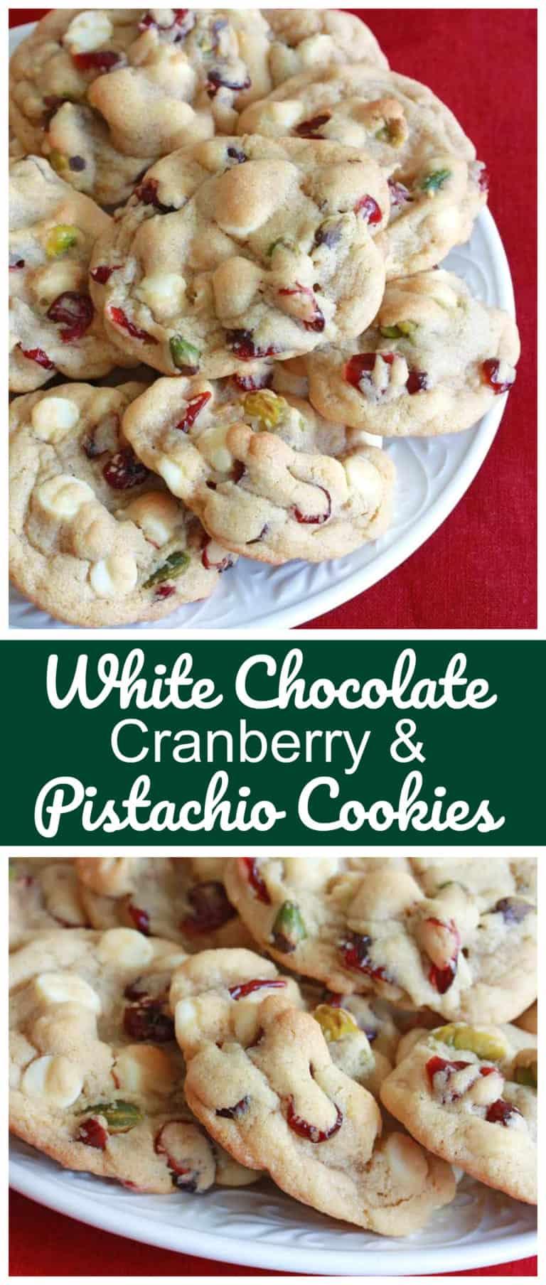 white chocolate cranberry pistachio cookies recipe cherry