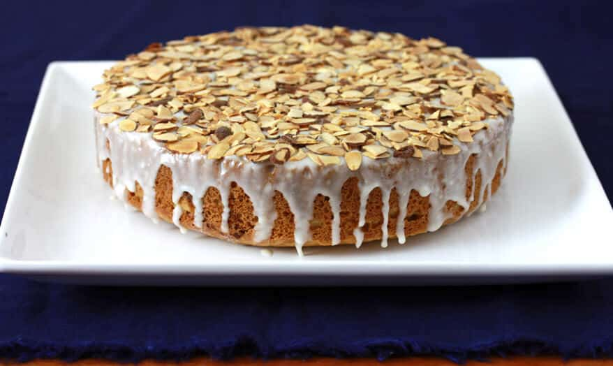 Almond Honey Cake 1