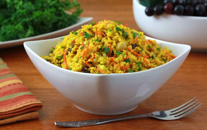 Healthy Curried Couscous Salad