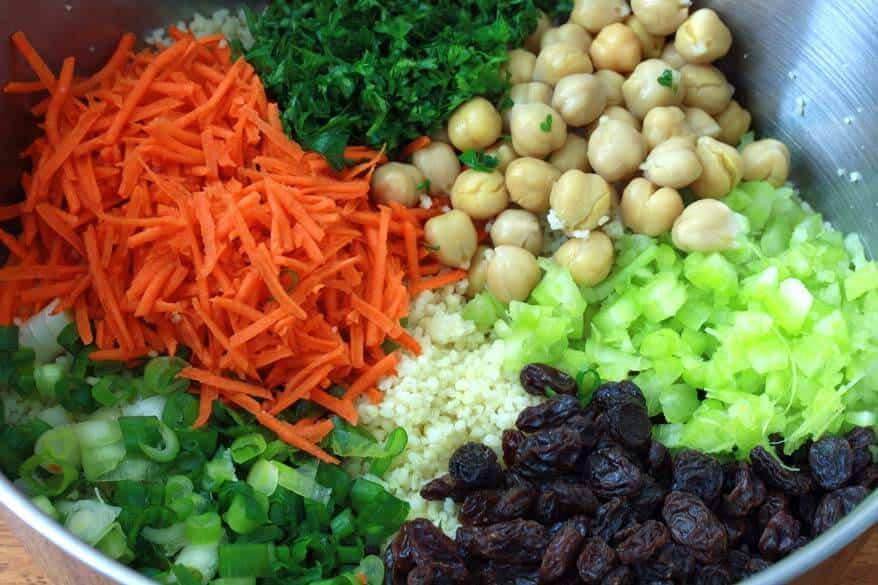 Curried Couscous Salad prep 7